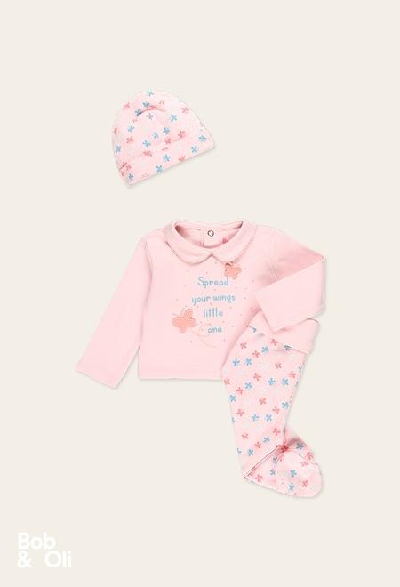 Pack strick für baby mädchen - organic_1