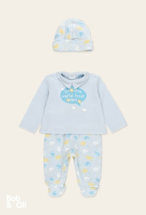 Pack knit for baby boy - organic_1