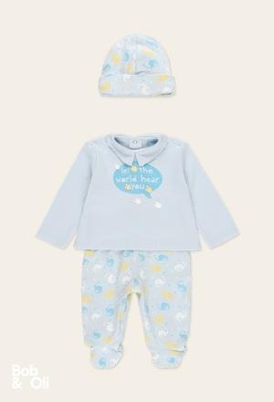 Pack punto de bebé niño - orgánico_1