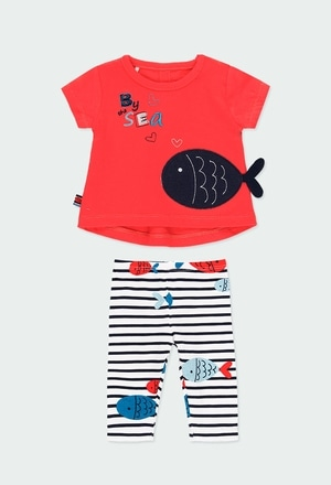 """Pack knit """"fishes"""" for baby girl_1"""