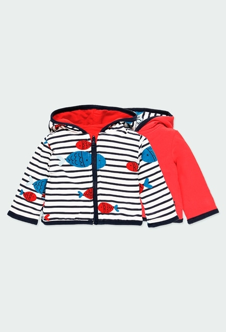 Manteau reversible pour bébé_1