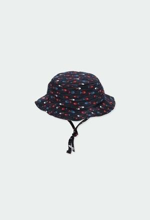 """Bonnet tricot """"poissons"""" pour bébé_1"""