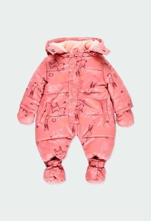 Fato tecido técnico do bébé_1