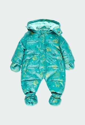 Technical fabric babygrow for baby_1