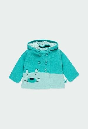 Knitwear jacket for baby boy_1