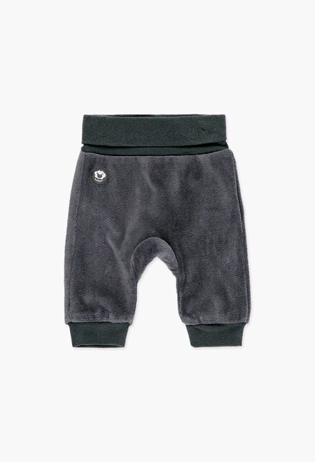Velour trousers for baby_1