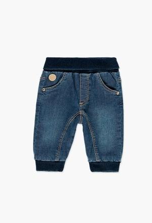 Pantalón denim de bebé niño_1