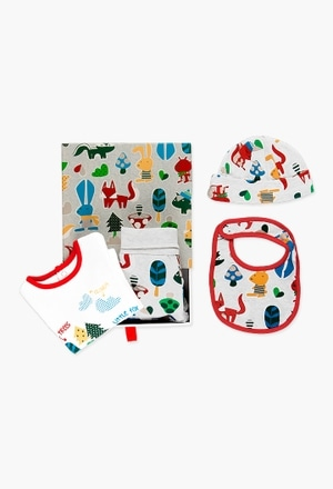Pack 4 pieces with gift case for baby_1