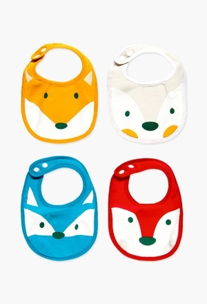 Pack 4 bibs for baby_1