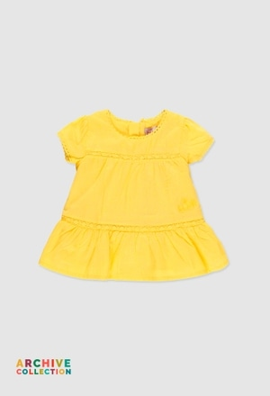 Robe plumeti pour bébé fille_1