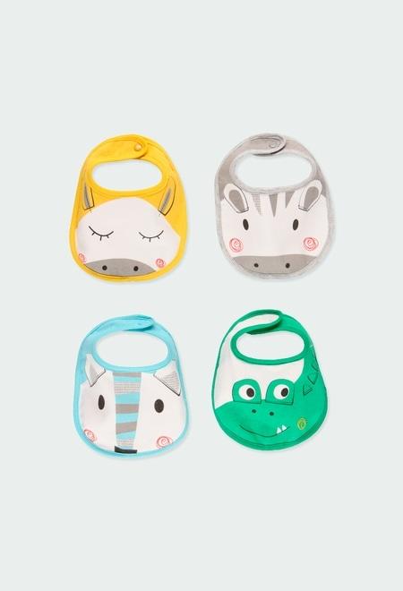 Pack 4 baberos de bebé_1