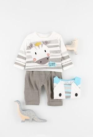 Camiseta manga larga de bebé niño_1