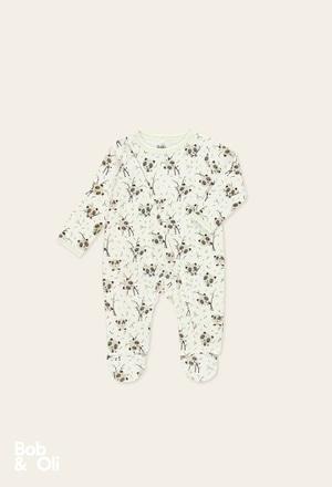 Strampelanzug gestrickt für baby - organic_1