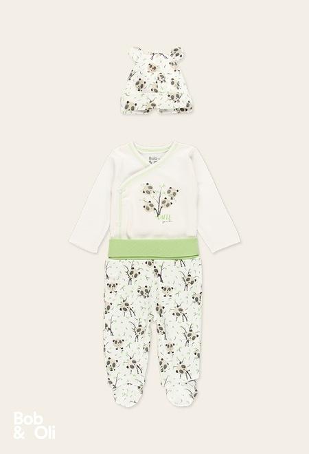 Pack punto pandas de bebé - orgánico_1