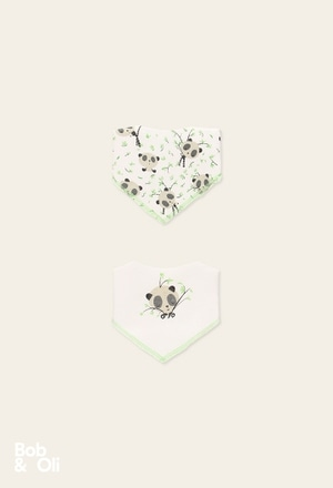 Pack 2 foulards for baby - organic_1