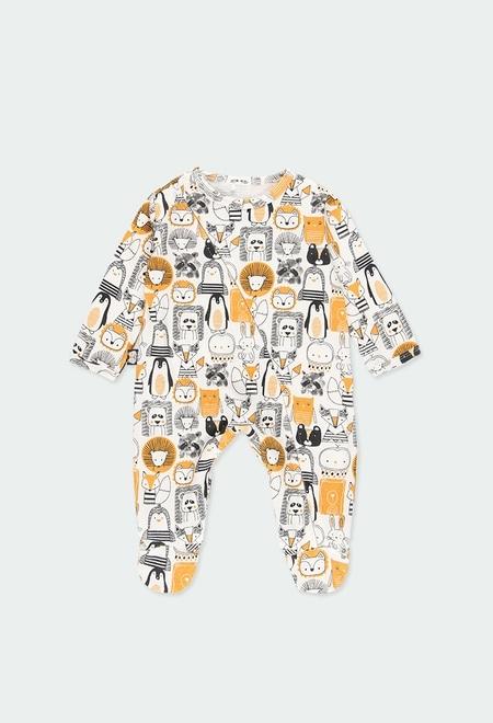 """Grenouillère """"animaux"""" pour bébé_1"""