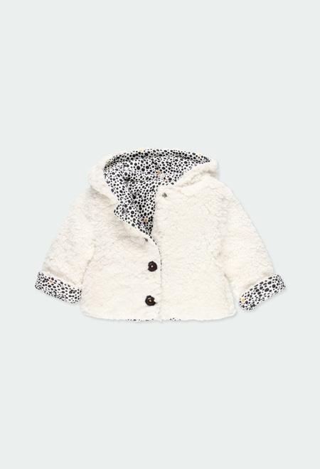 Jacke gestrickt doppelseitig für baby mädchen_1
