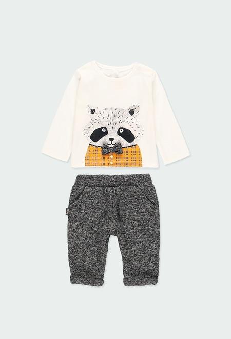 Pack punto mapache de bebé niño_1