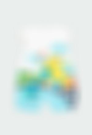 """Pelele punto """"arco iris"""" de bebé niña"""