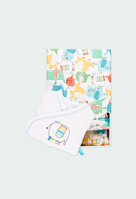 Pack 3 teile mit geschenkkiste für baby_1