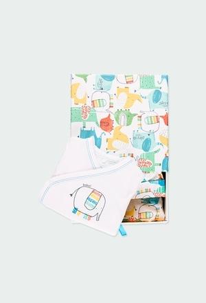 Pack de 4 articles avec coffret cadeau pour bébé_1