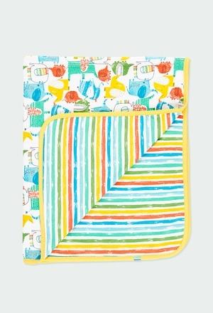 """Cobertor """"elefante"""" do bébé_1"""