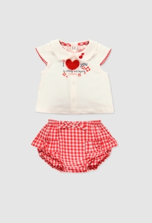 Pack punto combinado de bebé niña_1