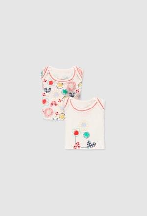 Pack 2 bodys de bebé niña_1