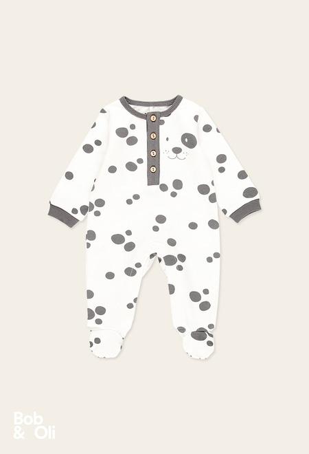 Pelele animal print de bebé - orgánico_1