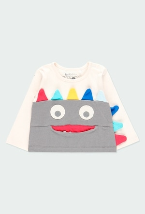 Camiseta punto dinosaurios de bebé niño_1