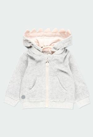 Velvet jacket for baby boy_1