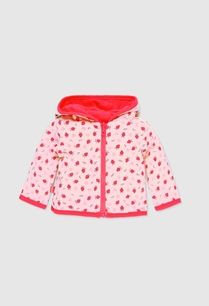 Reversible jacket for baby girl_1