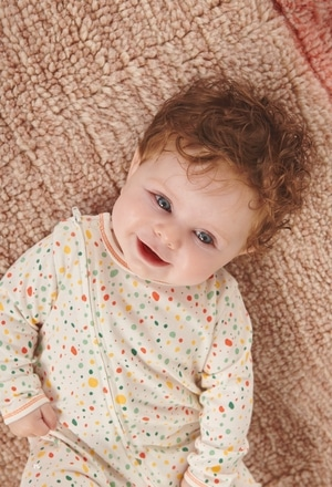 Pelele punto de bebé - orgánico_1