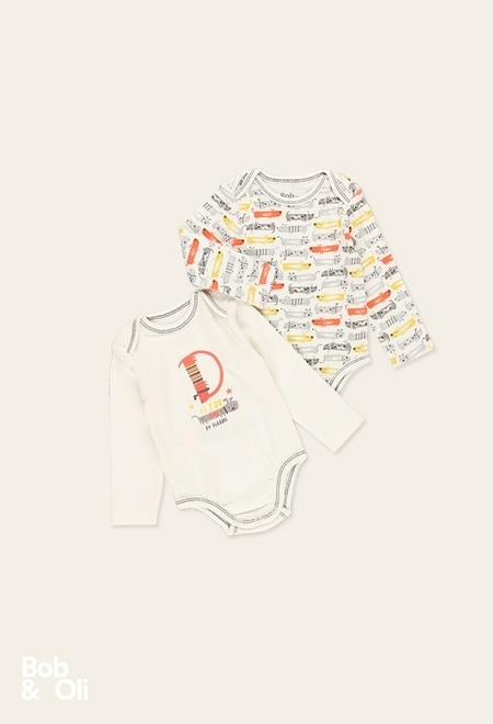 Pack 2 bodys zarge für baby - organic_1