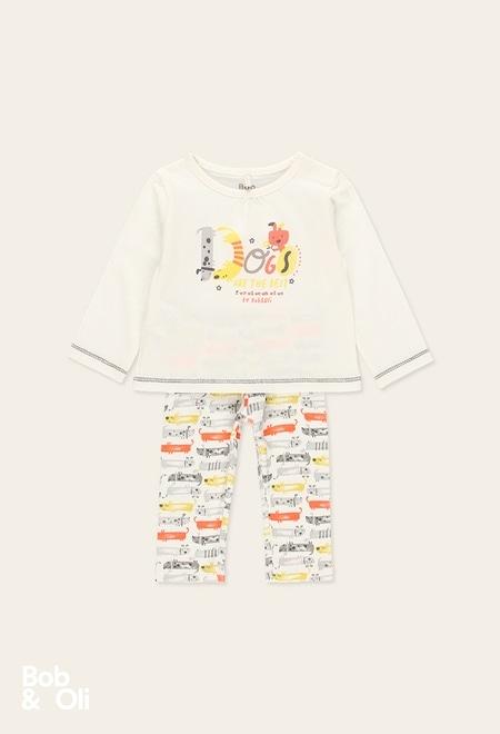 Pack malha para o bebé menina - orgânico_1