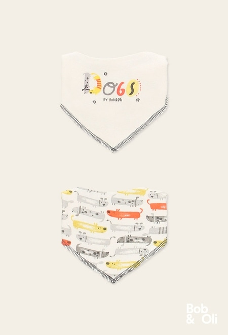 Pack 2 lenços do bébé - orgânico_1