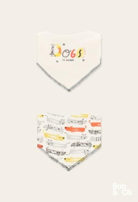 Pack 2  tücher gestrickt für baby - organic_1