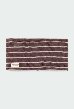 Neck warmer striped for baby_1