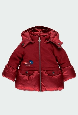 Technical fabric parka combined for baby_1