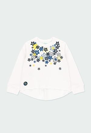 Sweat-Shirt plüsch kombiniert für baby mädchen_1