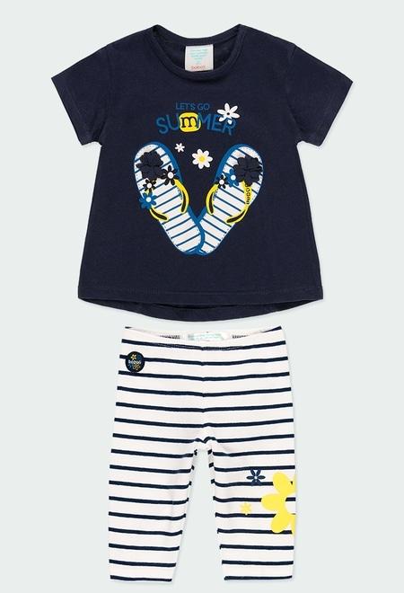 """Pack en tricot """"summer"""" pour bébé fille_1"""