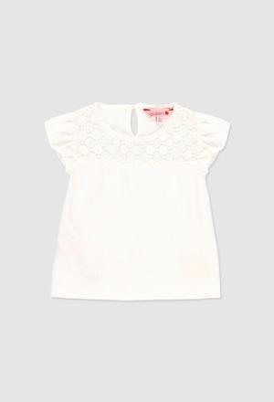 Camiseta malha flame para o bebé menina_1