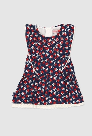 Viscose dress for baby girl_1