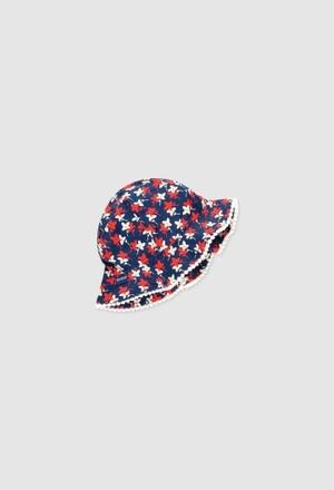 Bonnet-Écharpe pour bébé fille_1