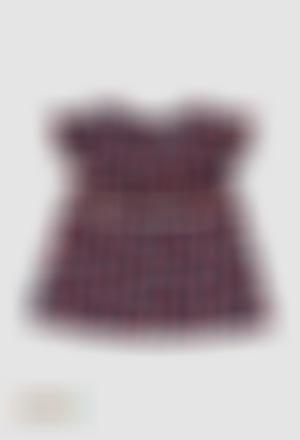 Blusa viscosa de bebé niña