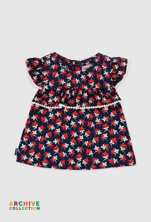 Blusa viscosa de bebé niña_1