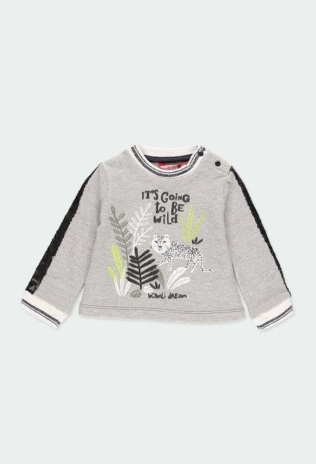 Sweat-Shirt plüsch für baby_1