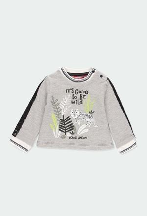 Fleece sweatshirt for baby_1
