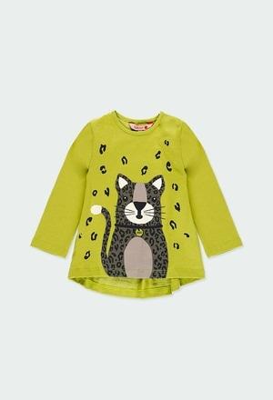 Camiseta malha estampado para o bebé menina_1