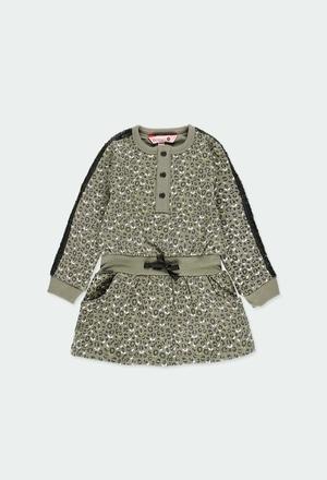 Vestido felpa para o bebé menina_1